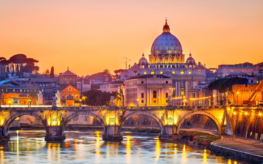 New York/Newark to Rome for around $331 R/T - January-March 2019
